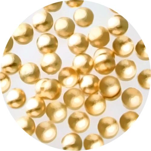 スタッズマル1.0mm ゴールド(50個)【ネコポス】